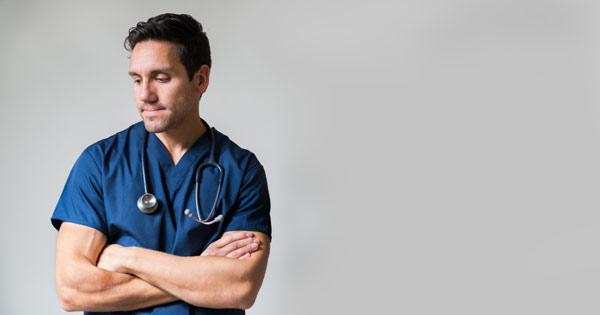Despondent Nurse