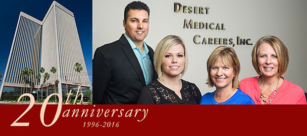 DMC Celebrates 20 Years as a Medical Staffing Agency