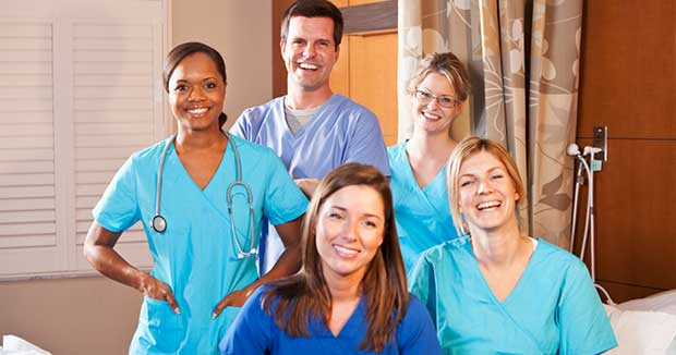 healthcare job workers